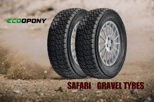 SAFARI szutry gravel tyres ecoopony
